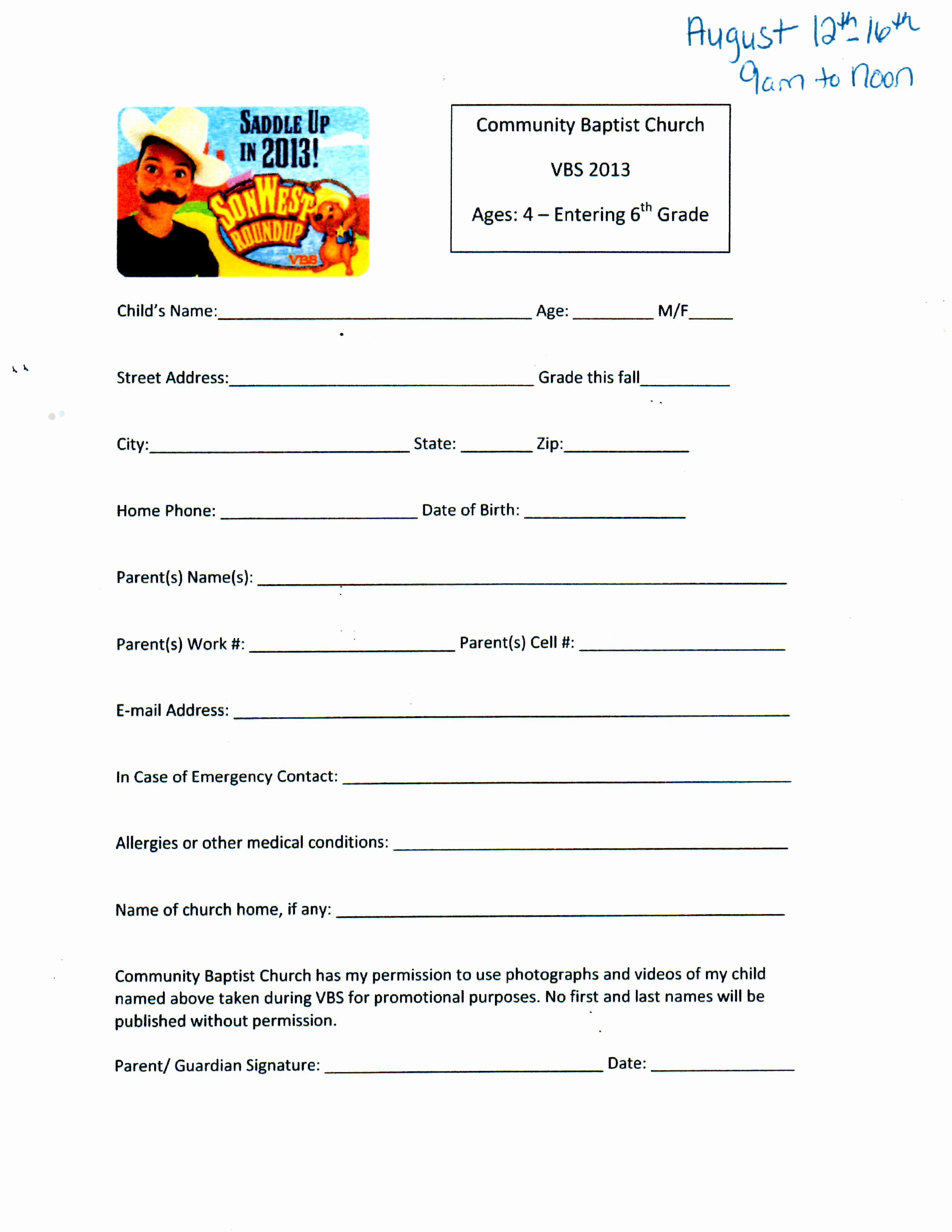 Vbs Sign Up Bing Images