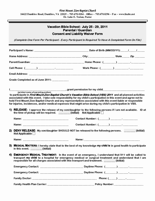 Vbs Student Registration form 2011 by Nuhman10