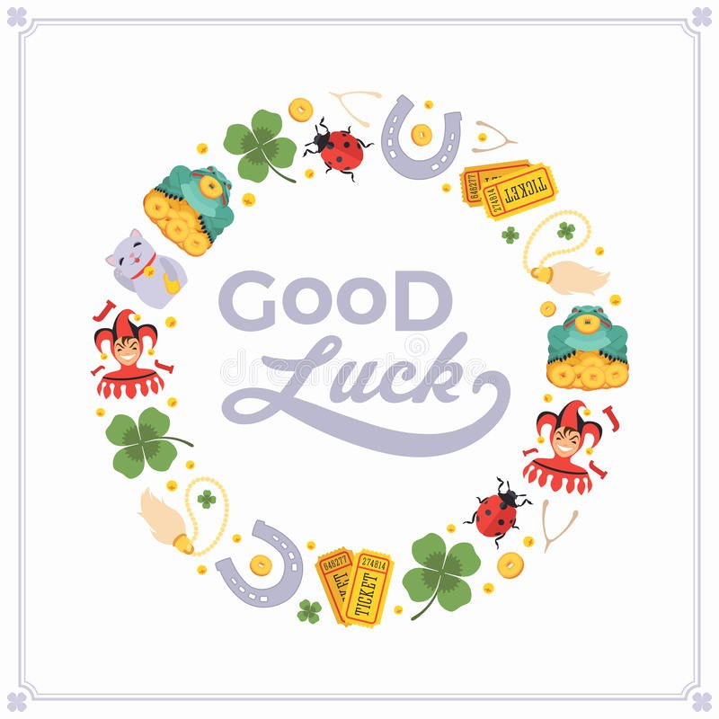 Vector Decorating Design Made Lucky Charms and Stock