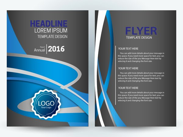Vector Editable Flyer Template Free Vector