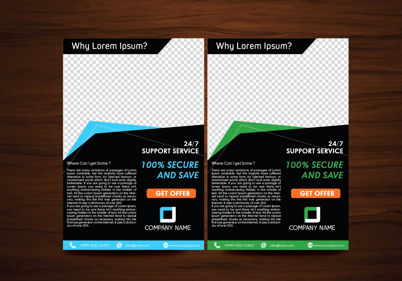Vector Flyer Design Layout Template Vector Download Free