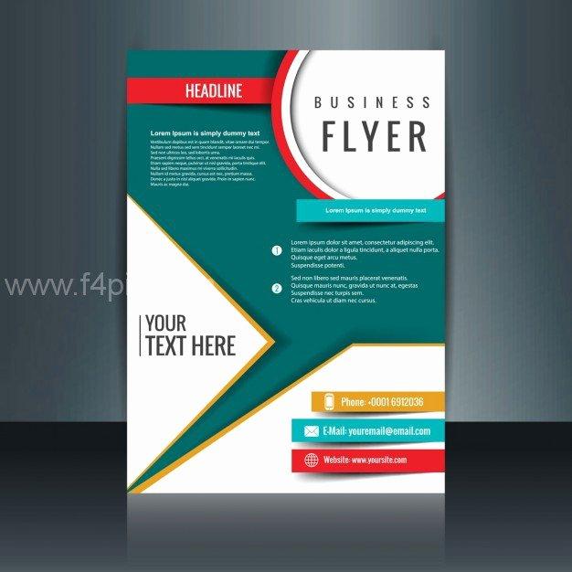 [ Vector ] Modern Brochure Template Free F4pik