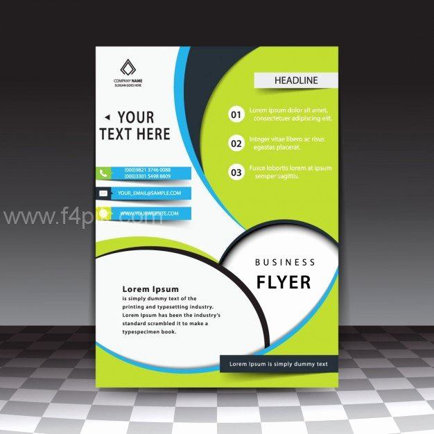 [ Vector ] Modern Stylish Business Flyer Template Free