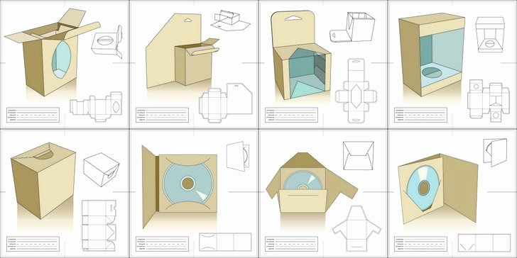 Vector Packaging Templates Try It Out