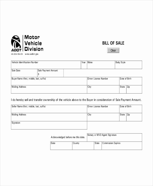 Vehicle Bill Of Sale Template 14 Free Word Pdf