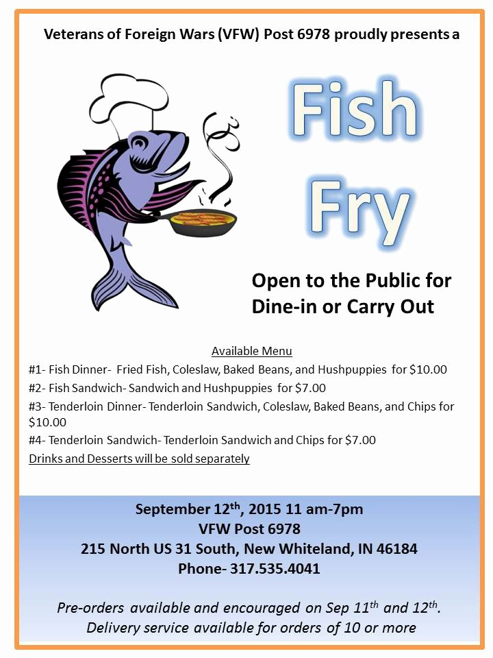 Vfw Post Fish Fry Qmix