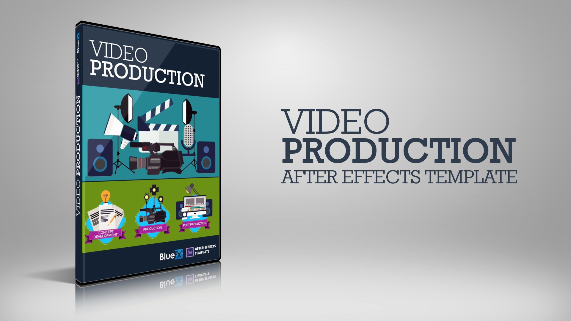 Video Production after Effects Template