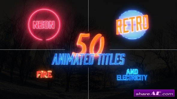 Videohive Awesome Title Pack after Effects Templates