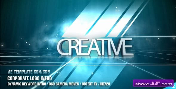 Videohive Corporate Logo Intro Free after Effects