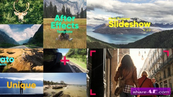 Videohive the Slideshow Free after Effects