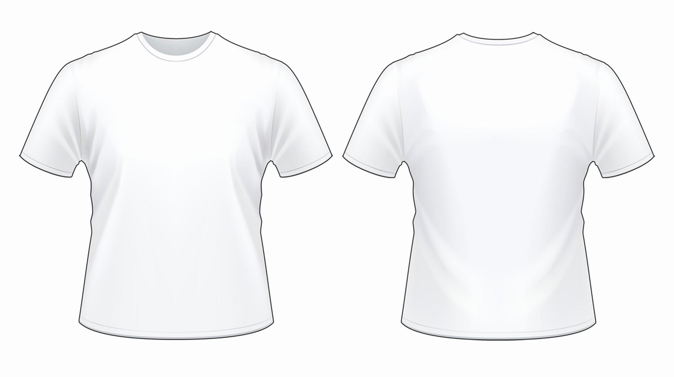 View T Shirt Template
