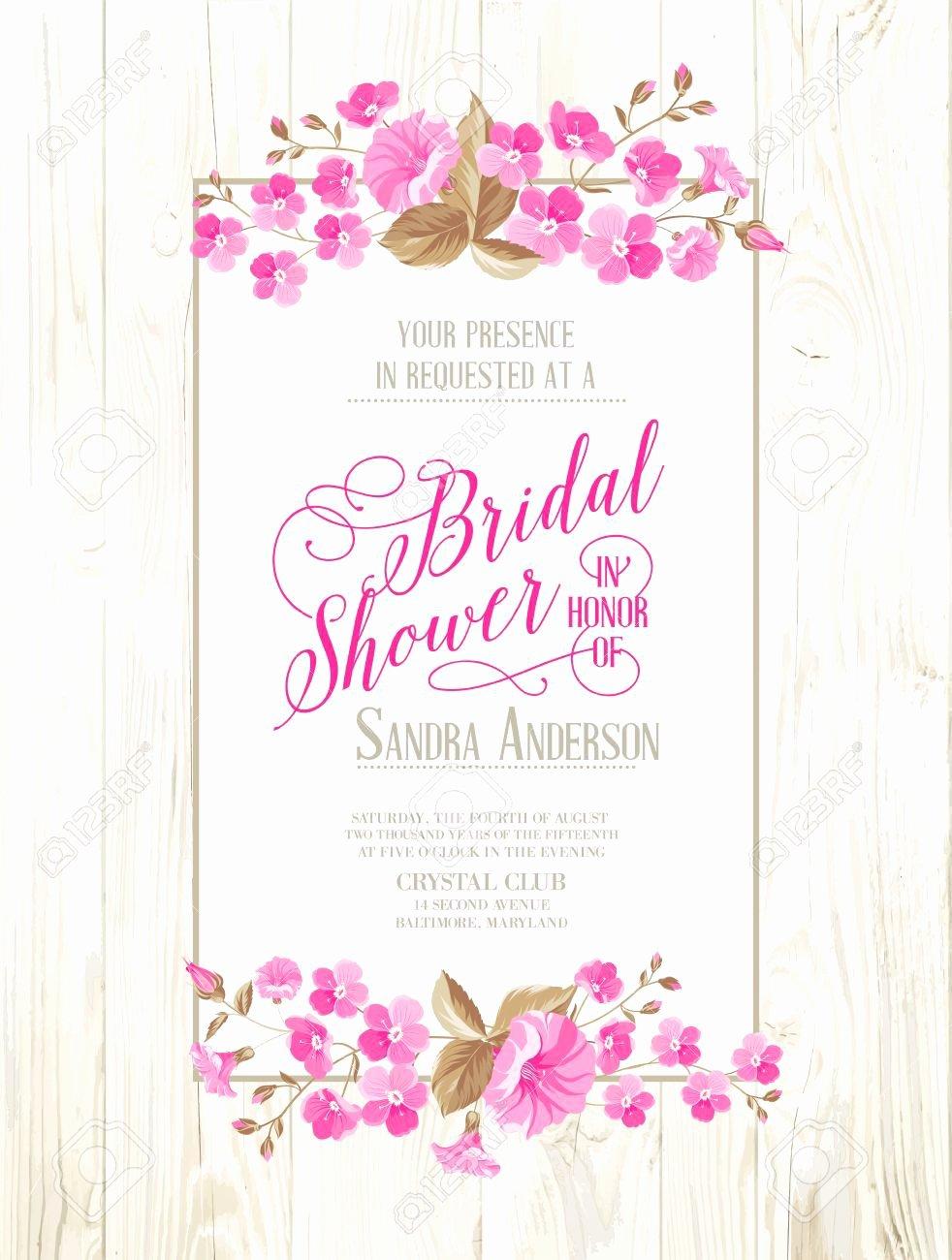 Vintage Bridal Shower Invitations Etsy Kinderhooktap