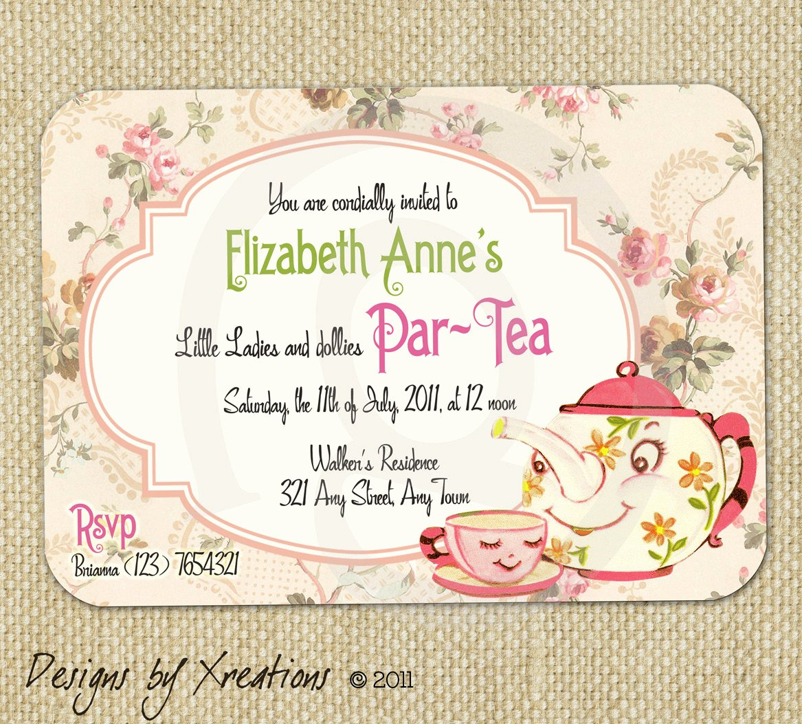 Vintage Party Invitations Template