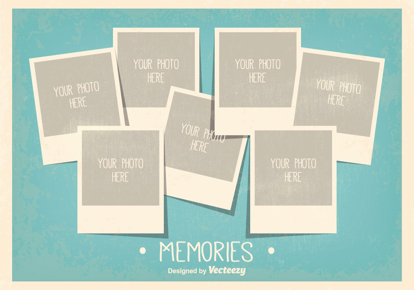 Vintage Style Collage Template Download Free
