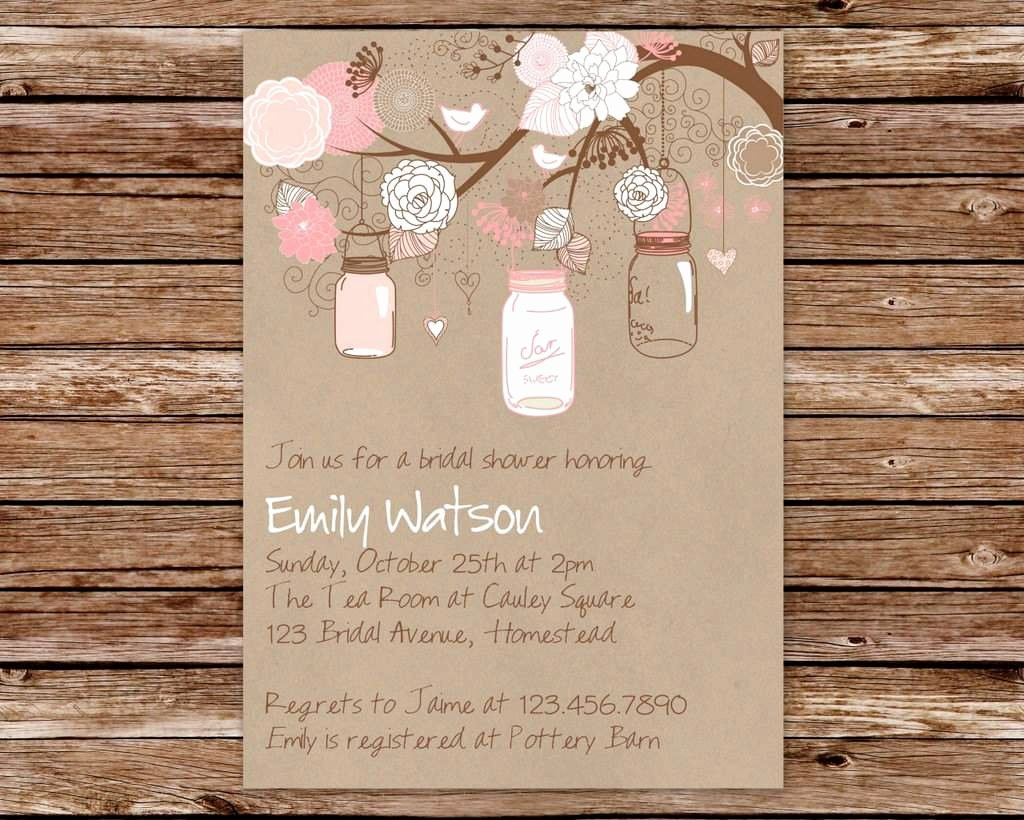 Vintage Wedding Invitation Templates