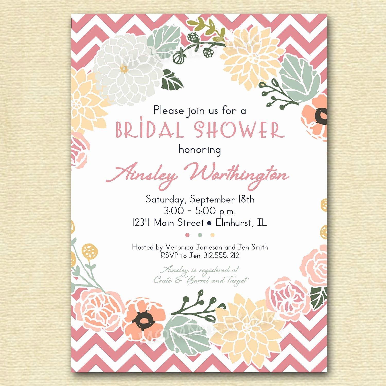 Vintage Wedding Shower Invitations Vintage Bridal Shower