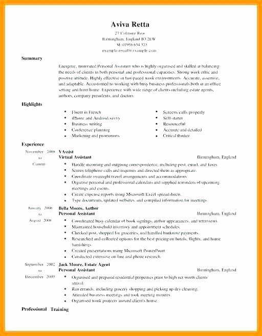 Virtual assistant Resume Sample – Letsdeliver