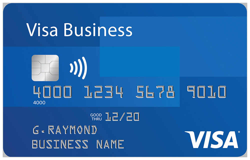Visa Business Card Fragmatfo