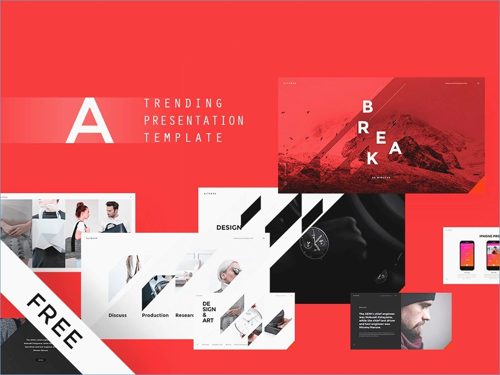 Vision Powerpoint Templates Free Download – Skywrite