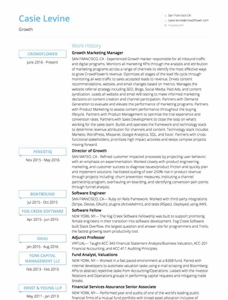Visualcv Line Cv Builder & Professional Resume Maker