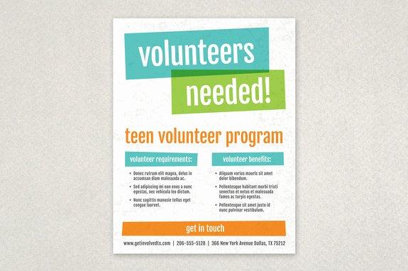 Volunteers Needed Flyer Template Yourweek 64c5fdeca25e