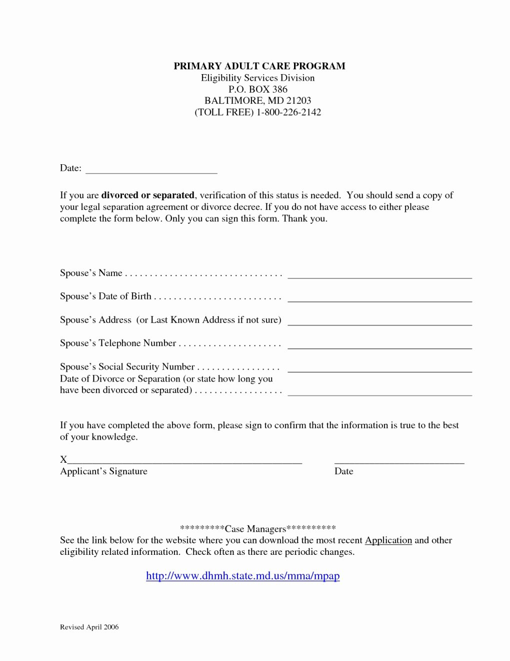 Waiver Rights form Sample