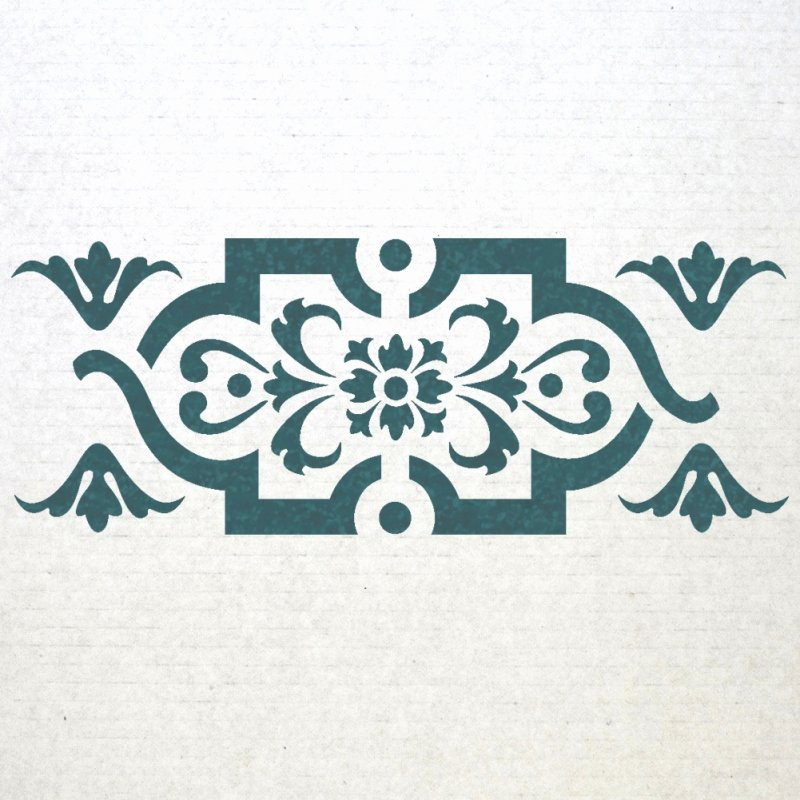 Wall Border Stencils Pattern 013 Reusable Template for Diy