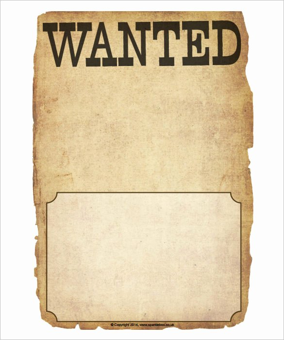 Wanted Poster Template 34 Free Printable Word Psd