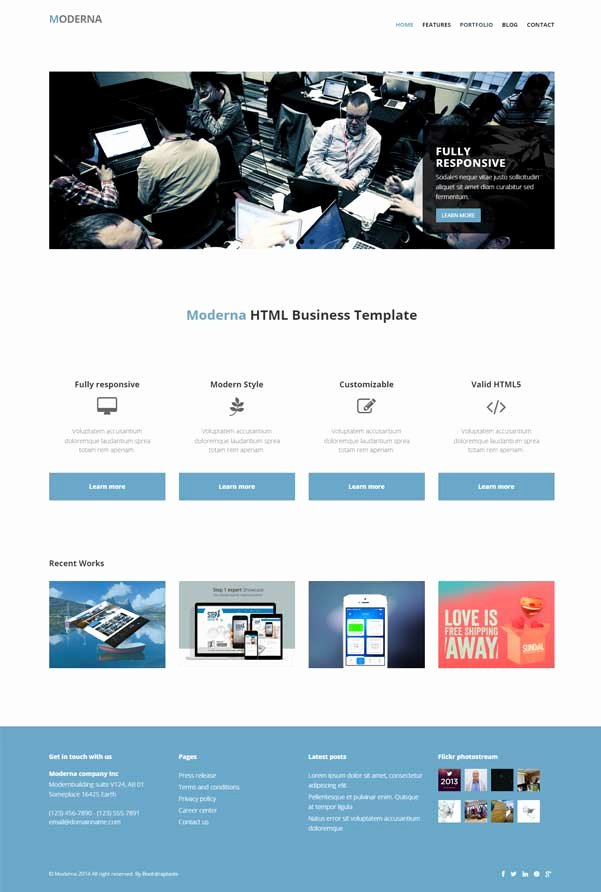 Wb V Gallery for Graphers Bootstrap