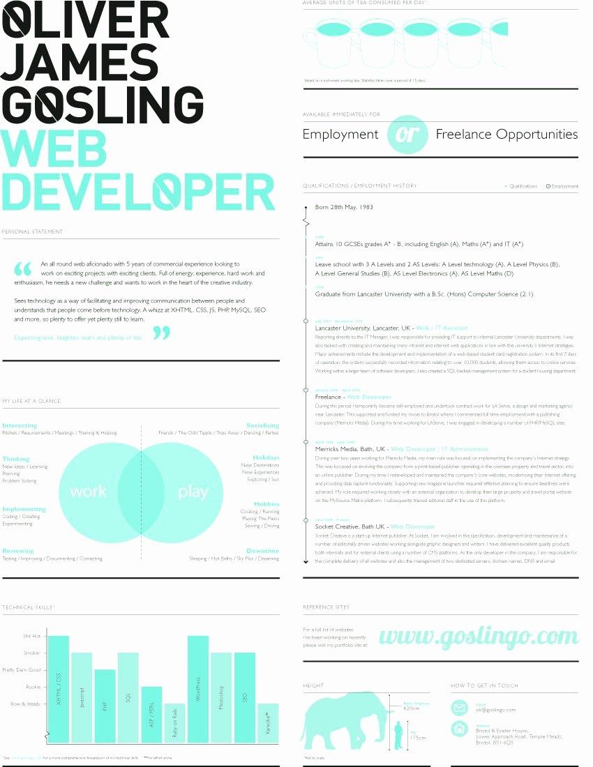 Web Designer Resume Template Cover Letter Samples