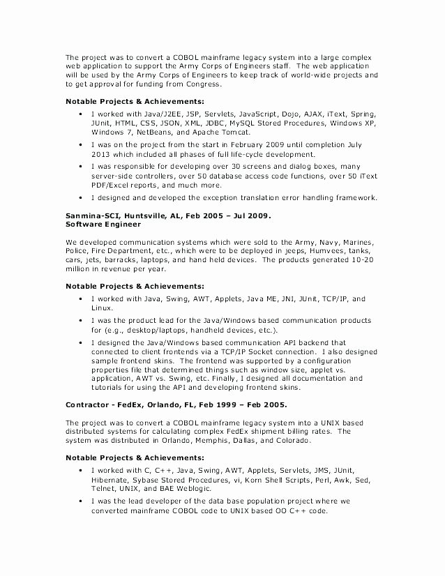 Web Developer Resume Objective – Resume Tutorial Pro