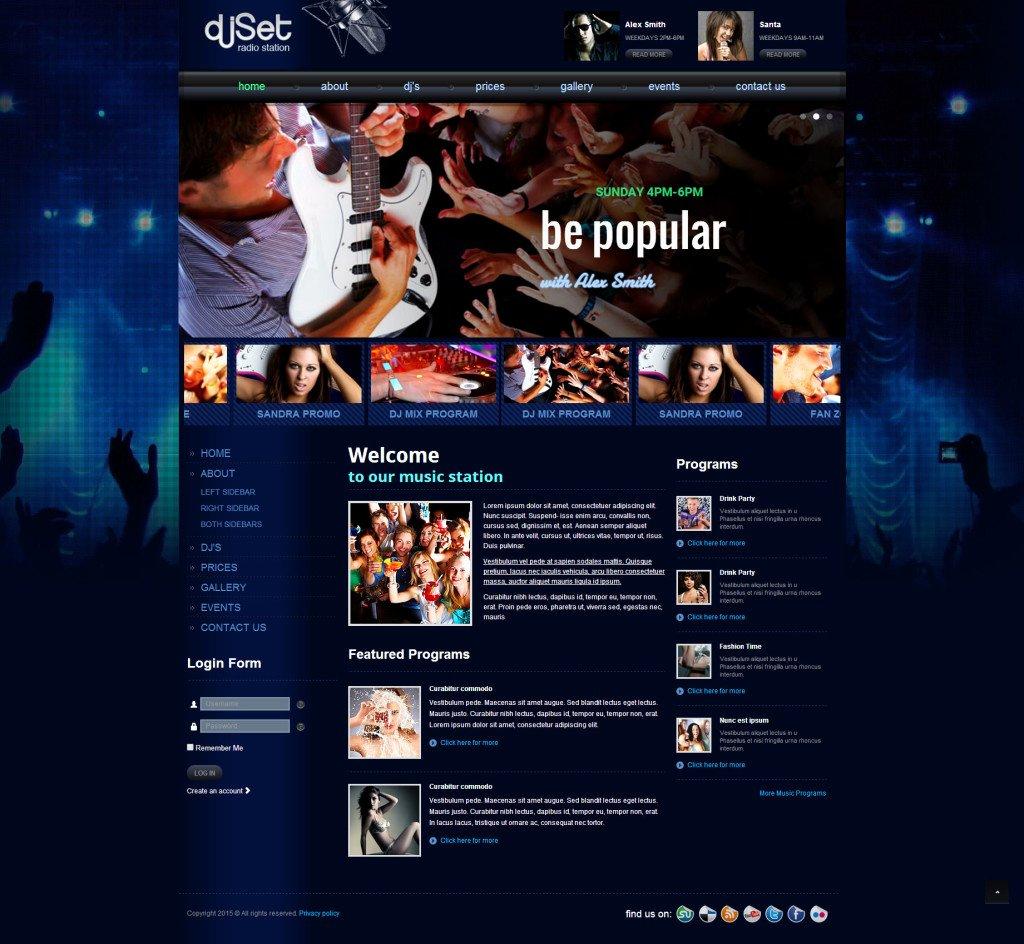 Web I Templates