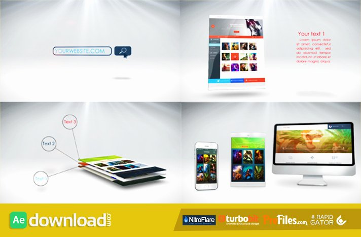Website Presentation Videohive Project Free