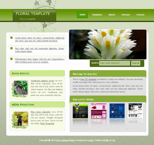 Website Templates Free Web Templates HTML Css Layoutsml