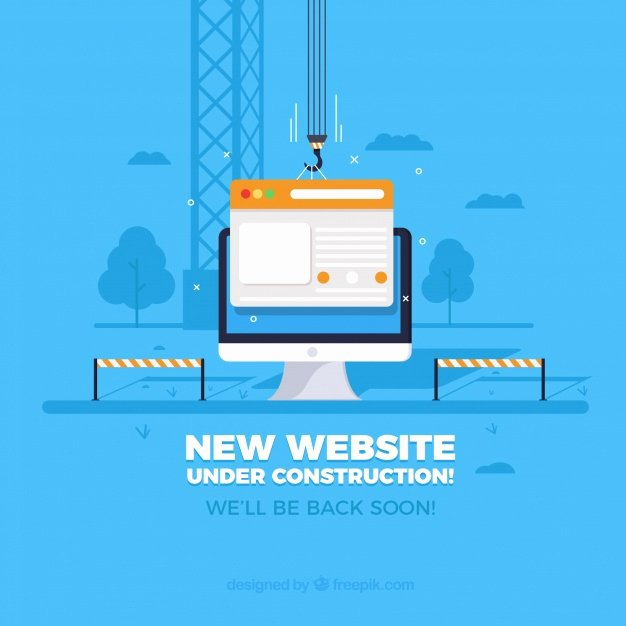 Website Under Construction Vectors S and Psd Files