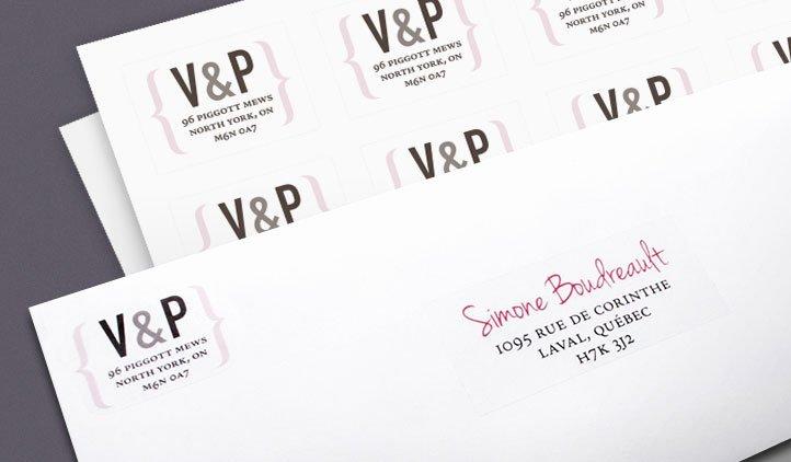 Wedding Address Labels – Oasis Amor Fashion