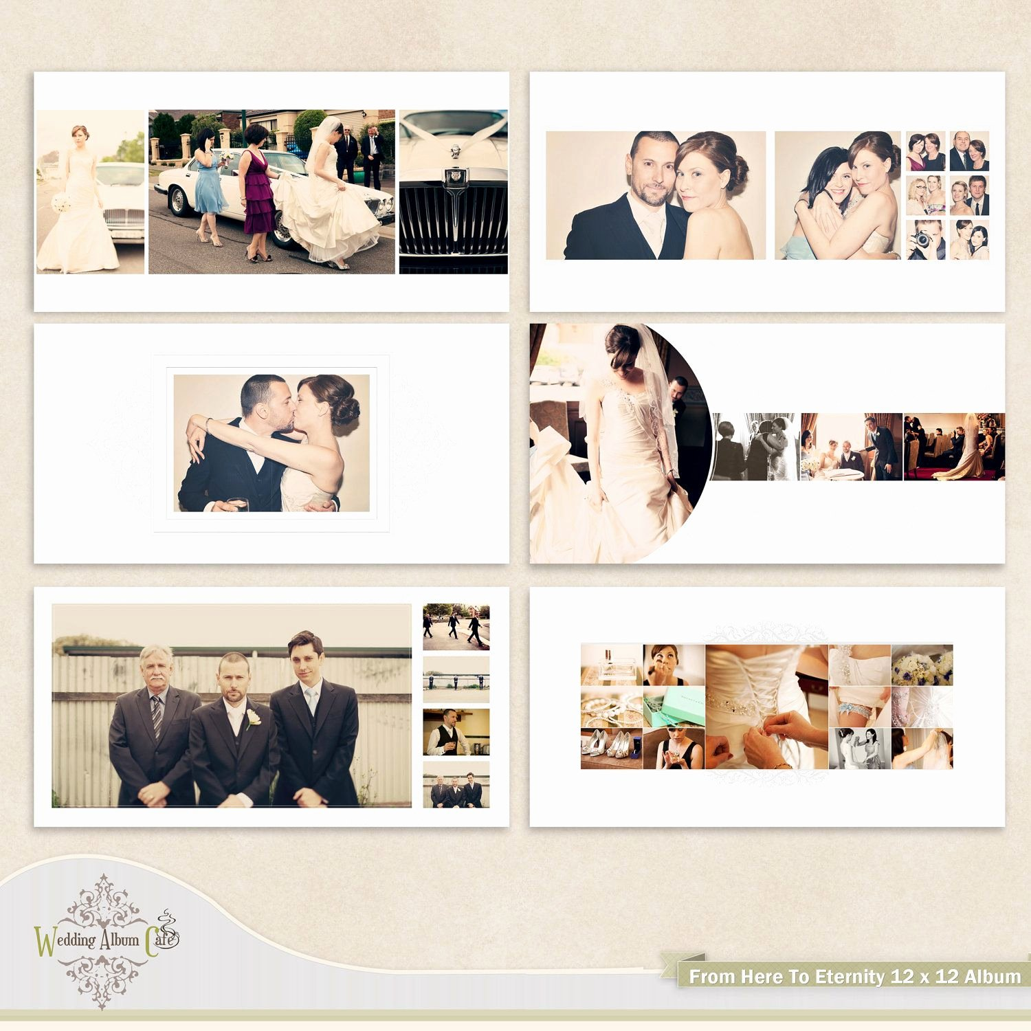 Wedding Album Template for Graphers $35 00 Via Etsy