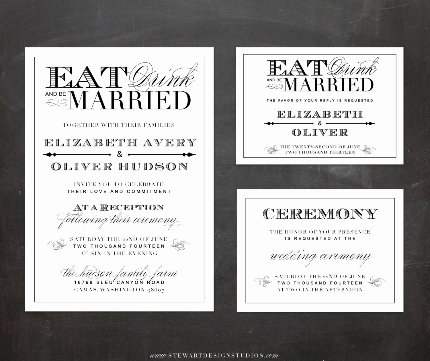 Wedding and Reception Invitation Wording Samples Gallery