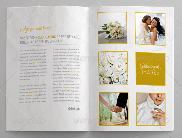 Wedding Brochure Template 10 Beautiful Wedding Brochure