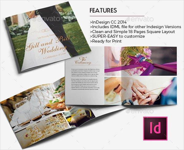 Wedding Brochures Templates Free Wedding Brochure Template