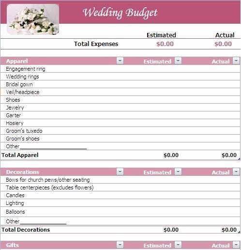 Wedding Bud Wedding Bud List
