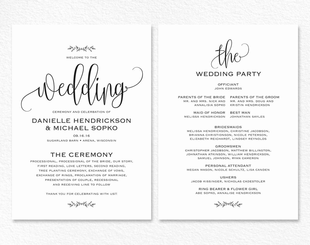 Wedding Card Template Word Templates Data