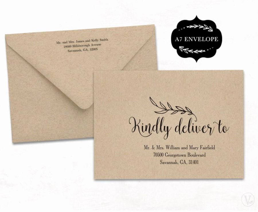 Wedding Envelope Template Printable Wedding Envelope