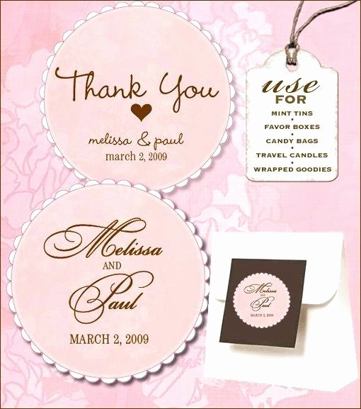 Wedding Favor Tags Template Free Holiday Labels From Love