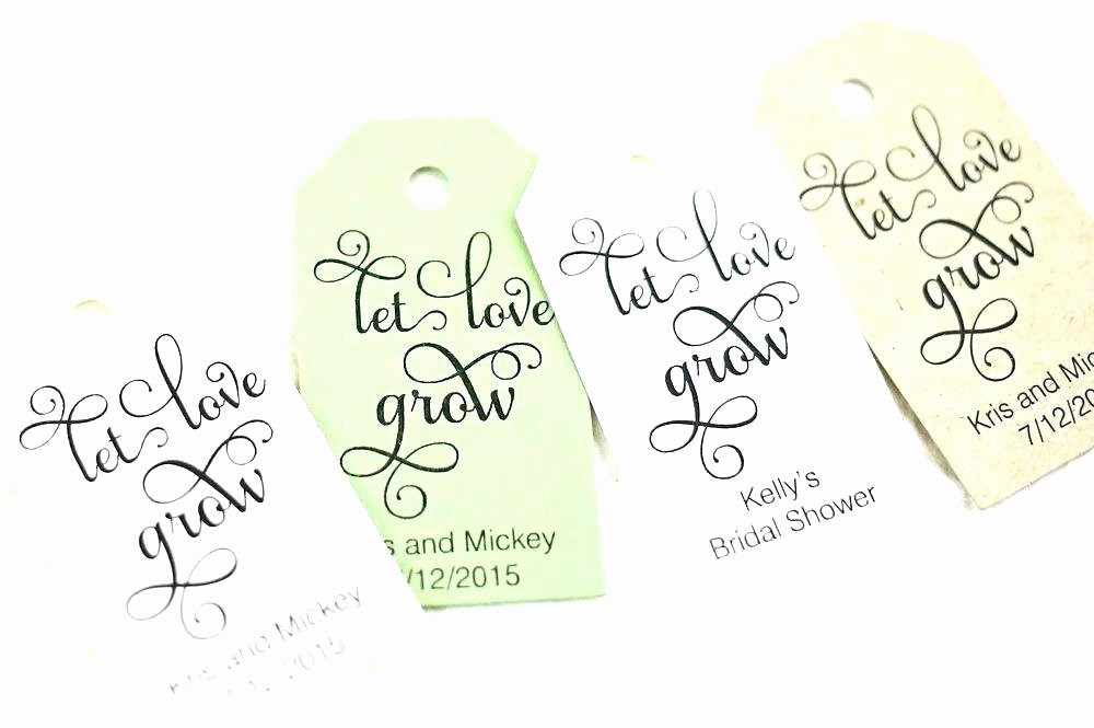Wedding Favour Label Template Tag Design Ideas