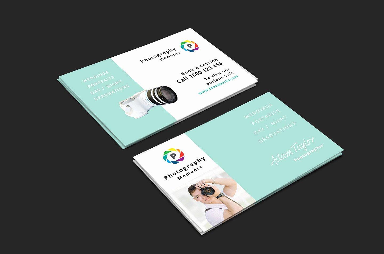 Wedding Grapher Business Card V2 Brandpacks