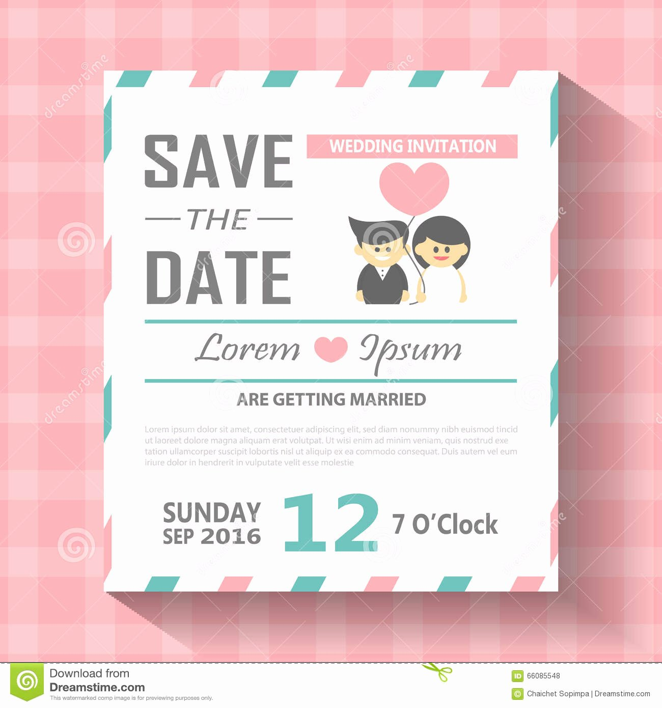 stock illustration wedding invitation card template vector illustration wedding invitation card editable background chevron font type save image