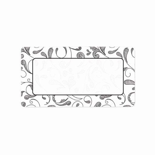 Wedding Invitation Envelope Label Template Matik for