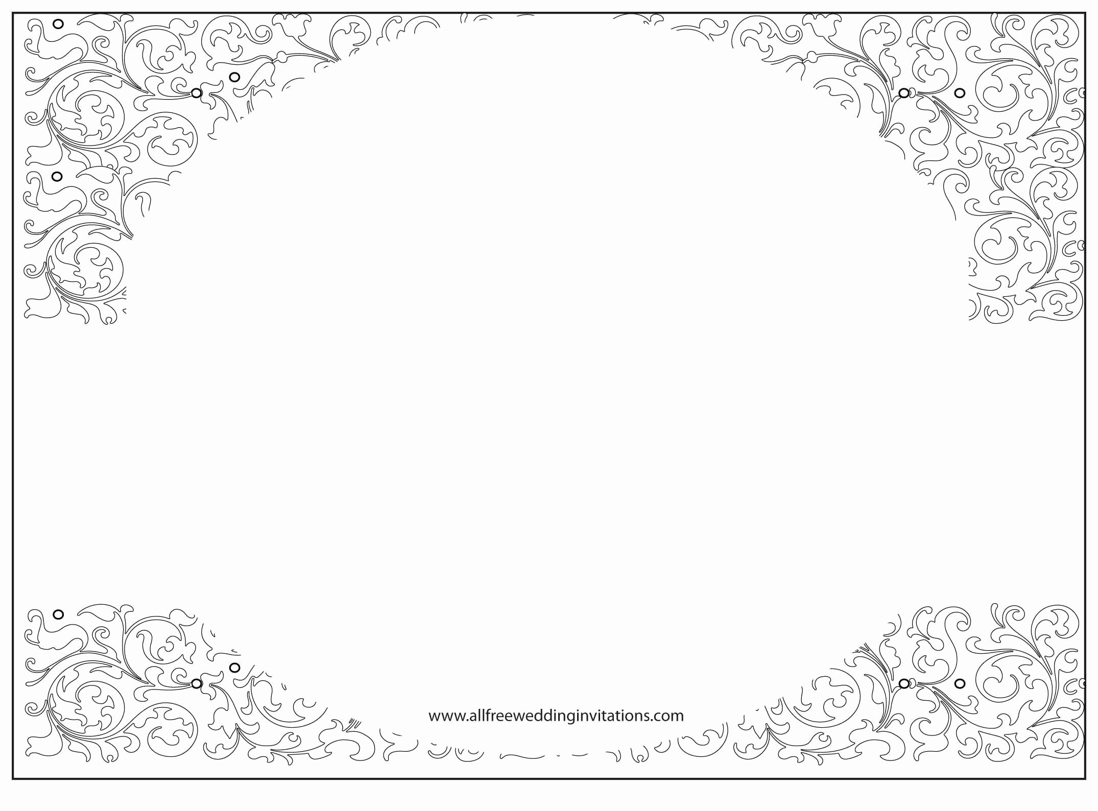 Wedding Invitation Free Wedding Invitation Template