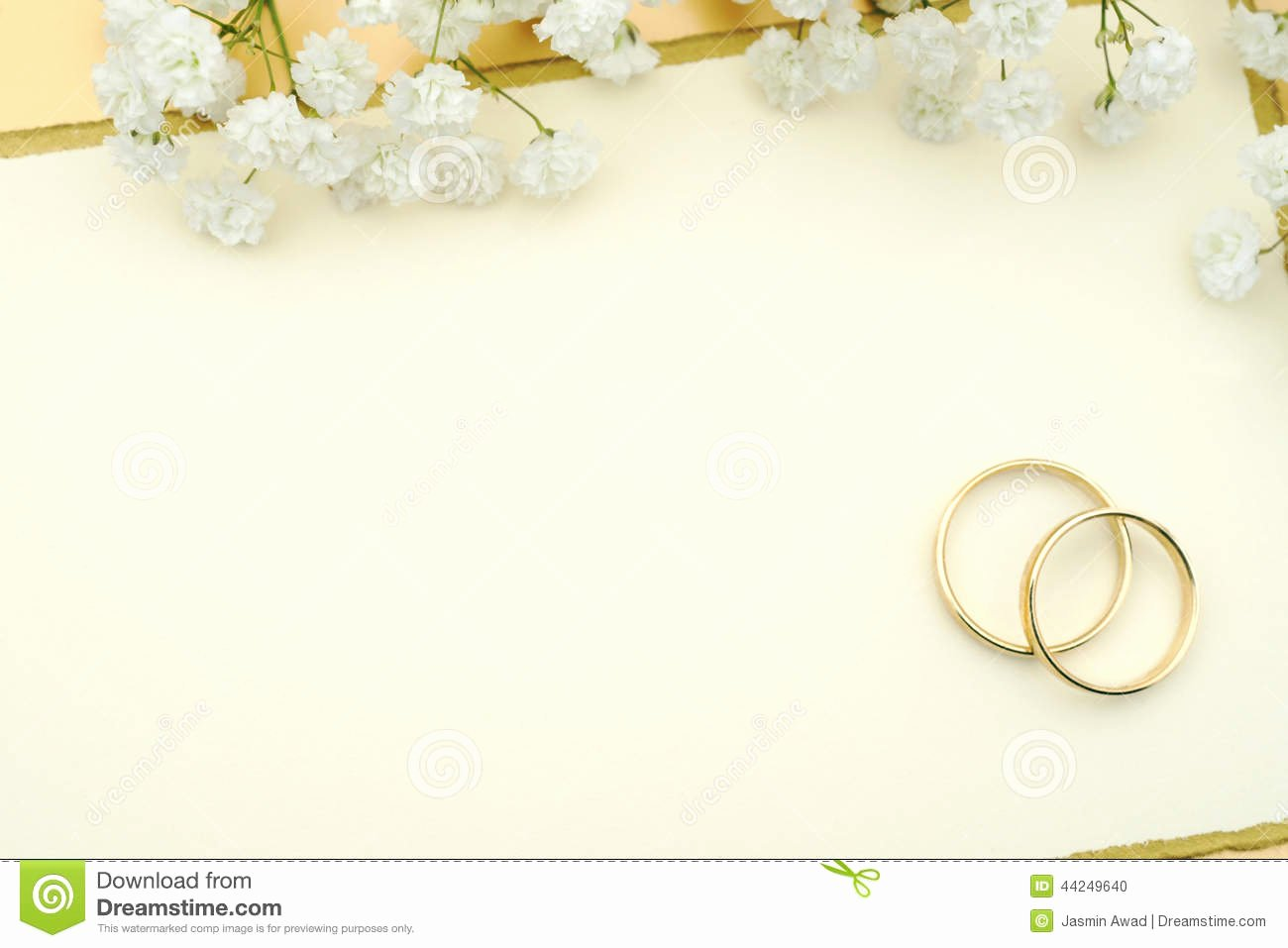 Wedding Invitation Stock Image Ring Invi Free